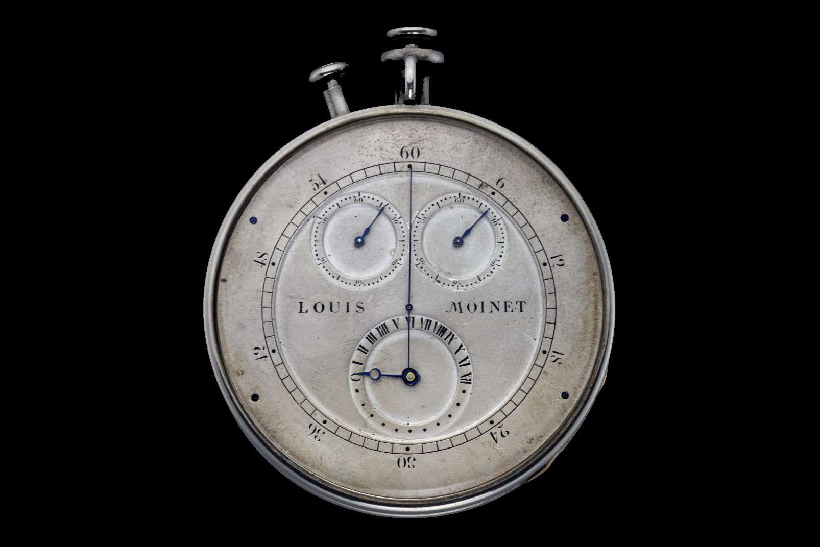 Louis Moinet's Compteur de Tierces, photo courtesy of Louis Moinet CC BY-SA 3.0