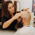 Eric:Barbier Haircut & Shave Hamburg close shave