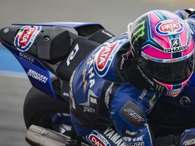 Pata Yamaha Official WorldSBK Team attains second and third in Buriram, Thailand