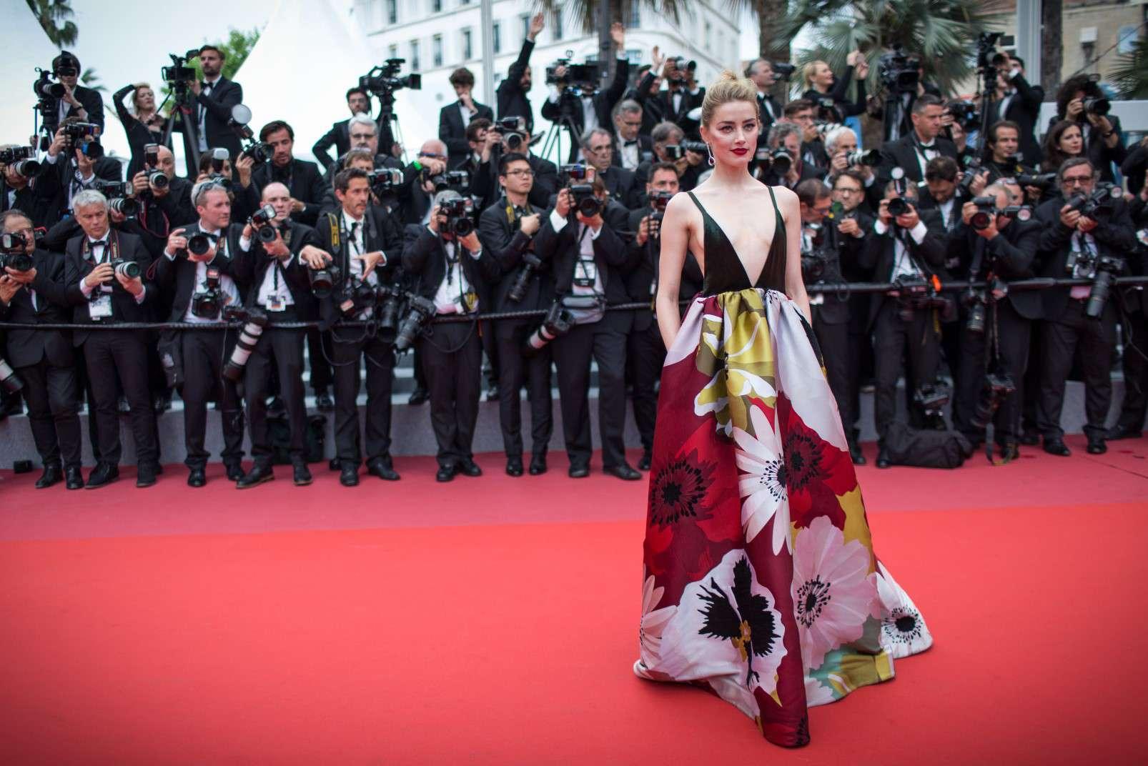 Cannes 2018, Amber Heard wearing de Grisogono jewellery, photo courtesy of de Grisogono