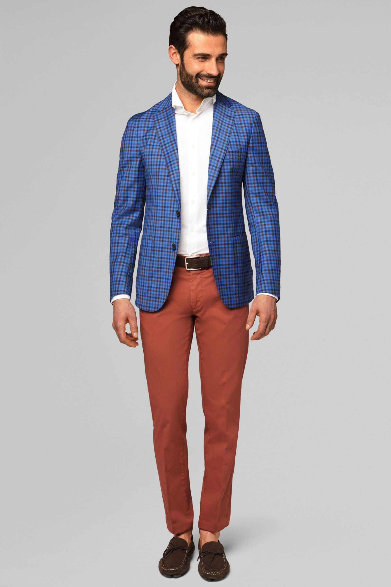 Boggi Milano long-sleeved polo shirts