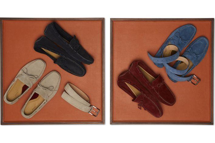 Suede loafers Boggi Milano