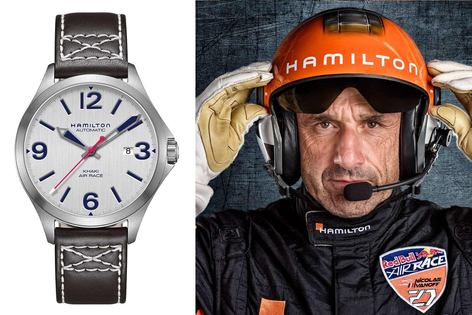Hamilton Khaki Air Race, Nicolas Ivanoff
