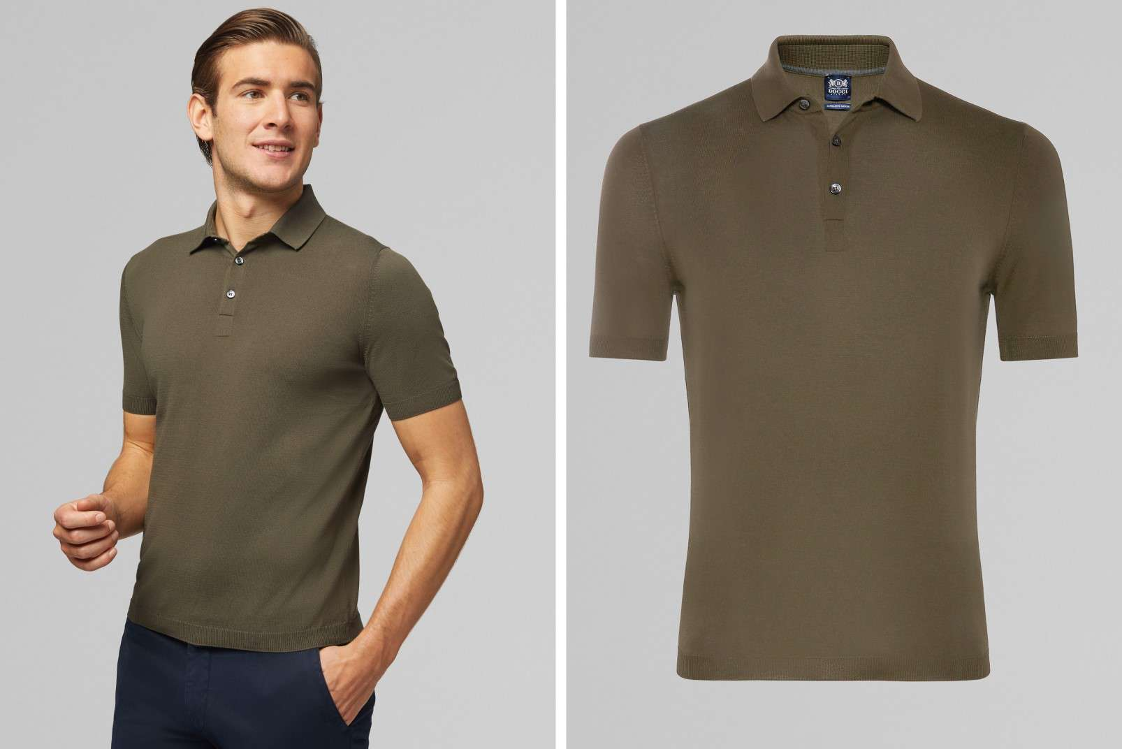 Boggi Milano polo shirt