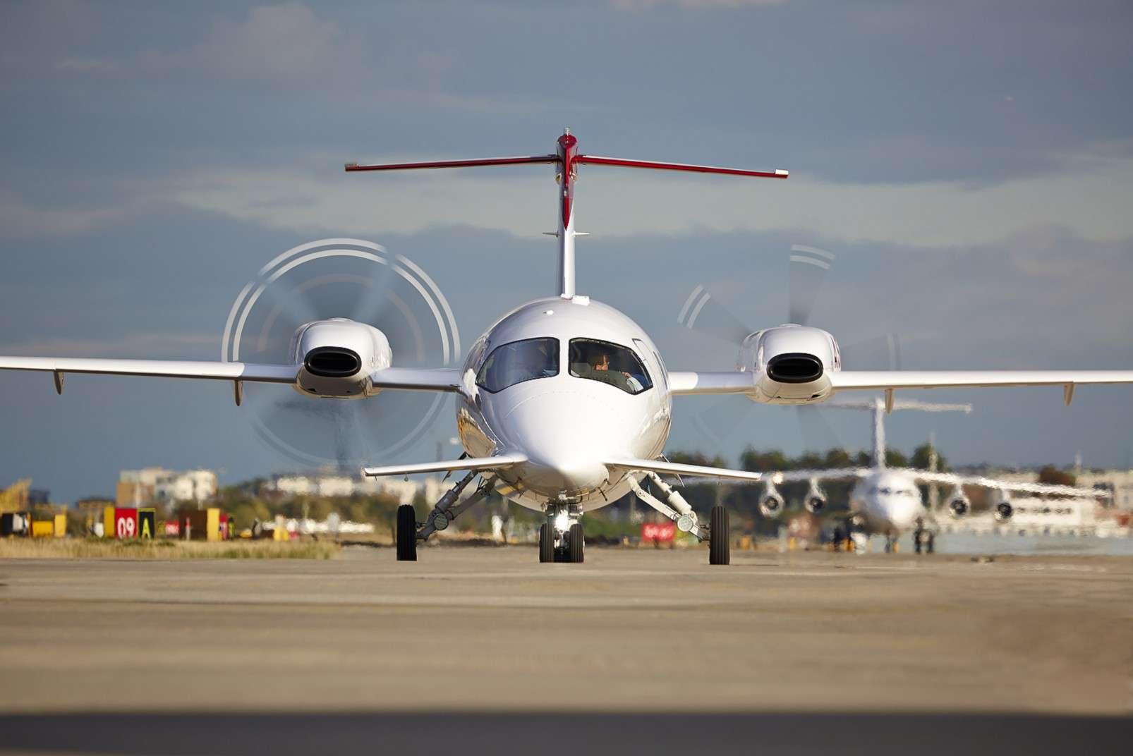 Farnborough International Airshow 16-22 July 2018, Piaggio Avanti EVO turboprop
