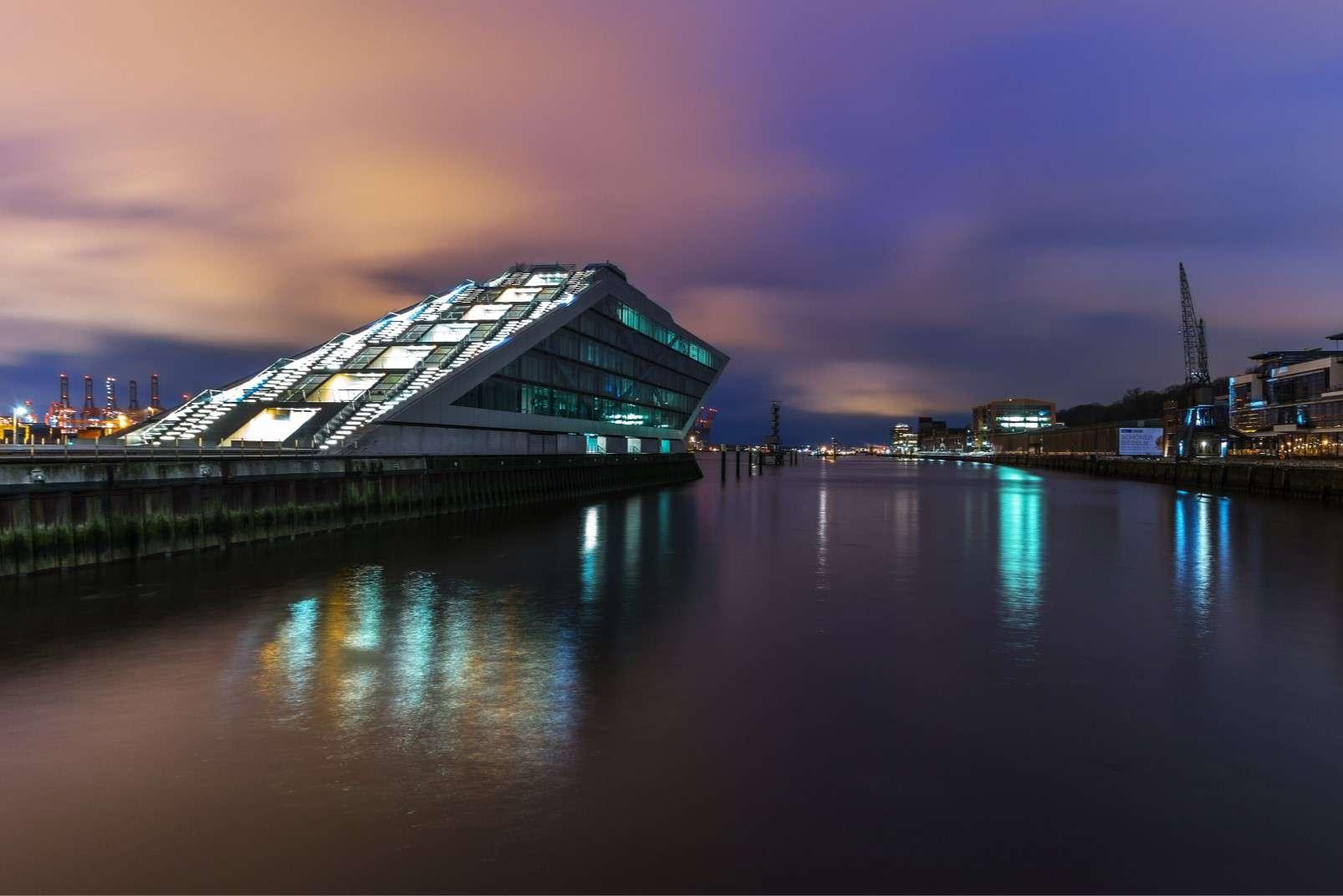 Elbe Hamburg harbour