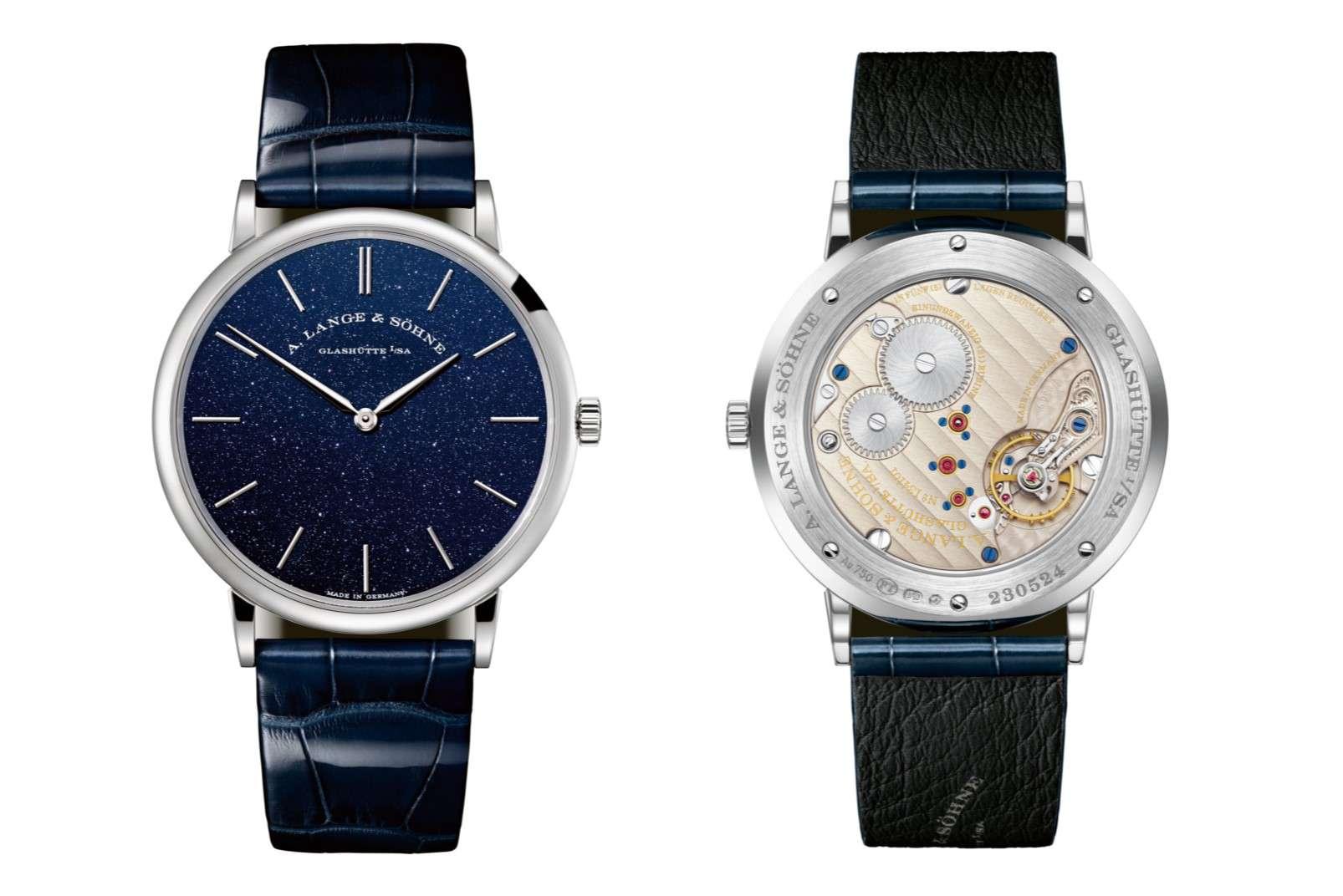 A Lange Sohne Saxonia Thin dress watch