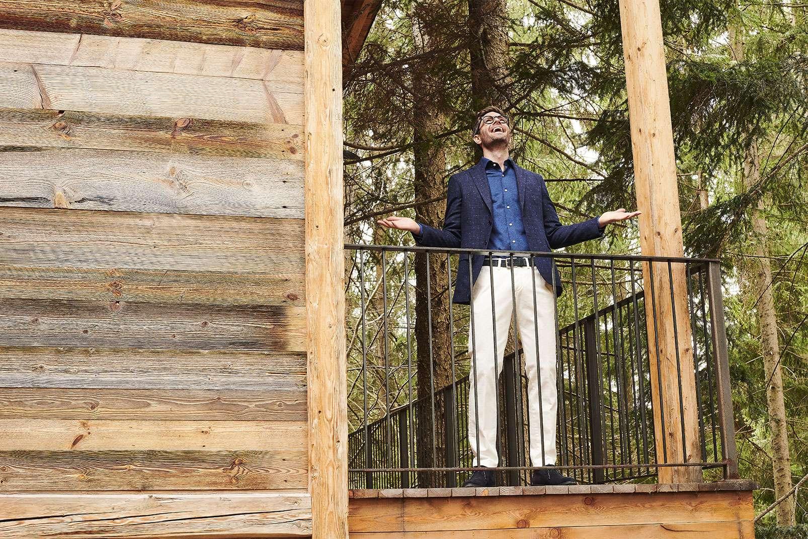 Boggi Milano jacket BO18A011201 balcony