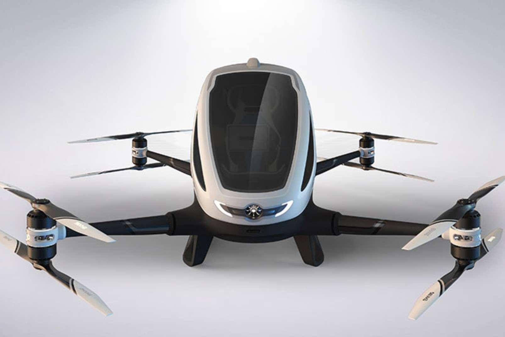 Ehang passenger-carrying drone