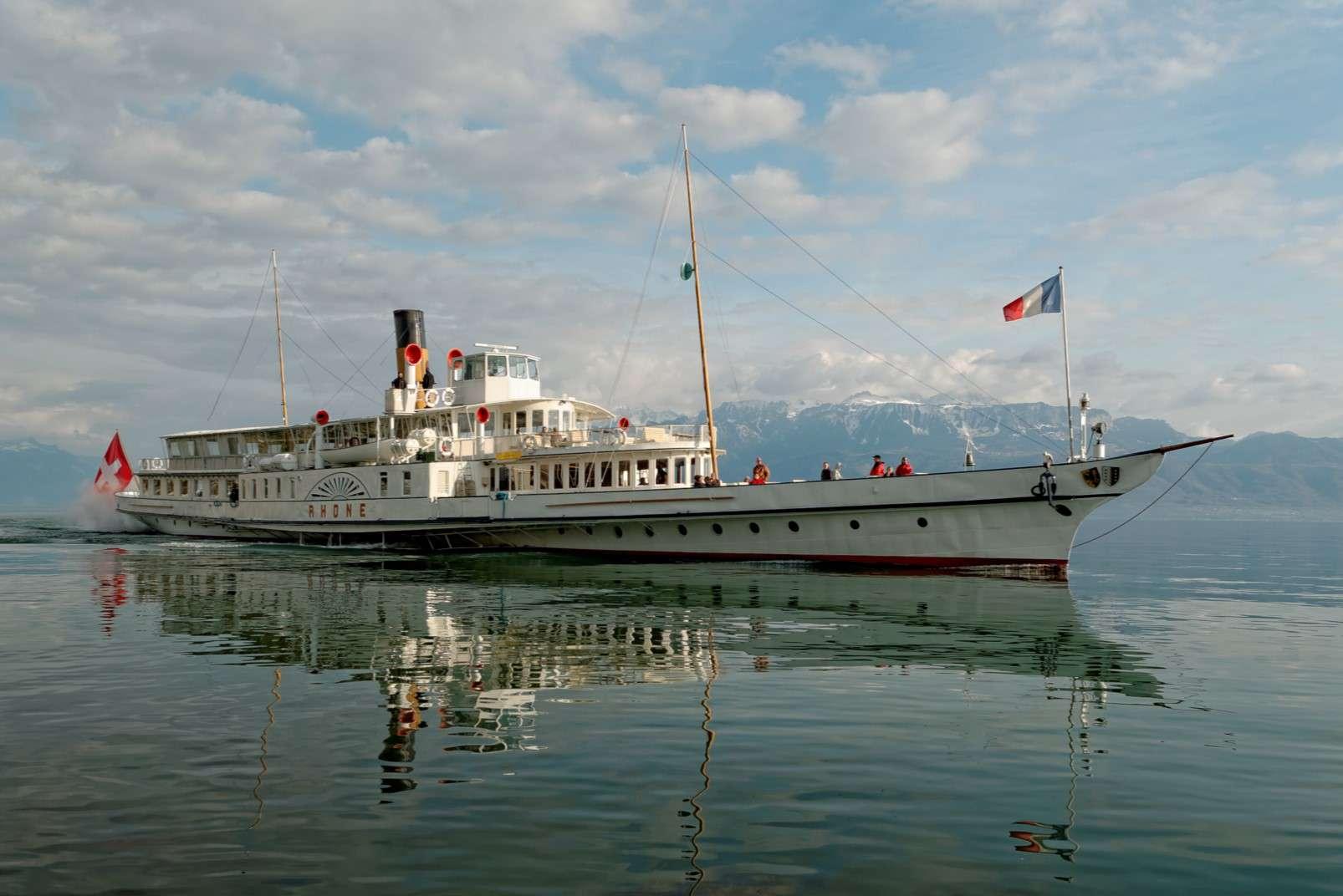 Geneva Rhone cruise ferry