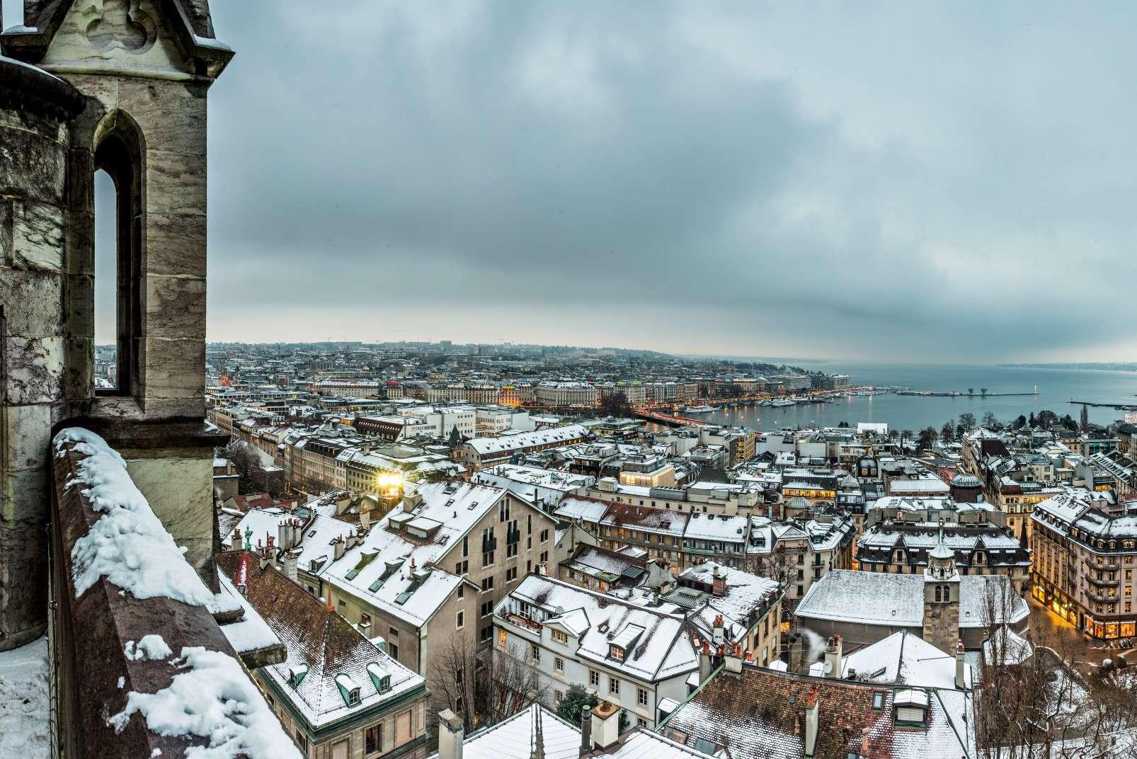 Geneva snow