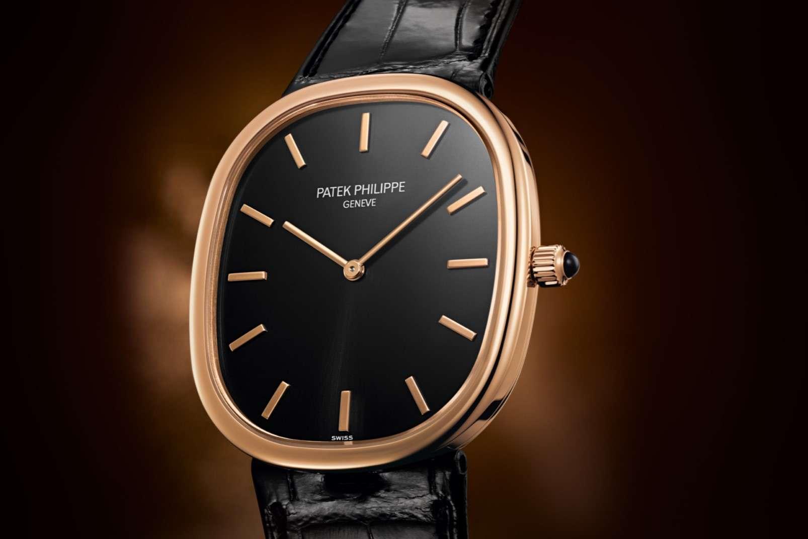 Patek Philippe Golden Ellipse 5738R dress watch