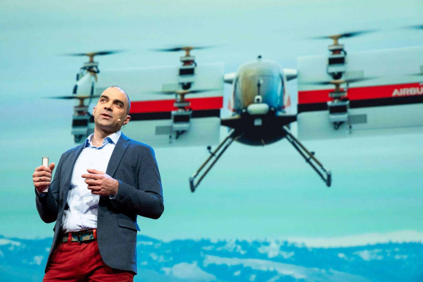 Rodin Lyasoff CEO of A3 by Airbus - Vahana passenger-carrying drone