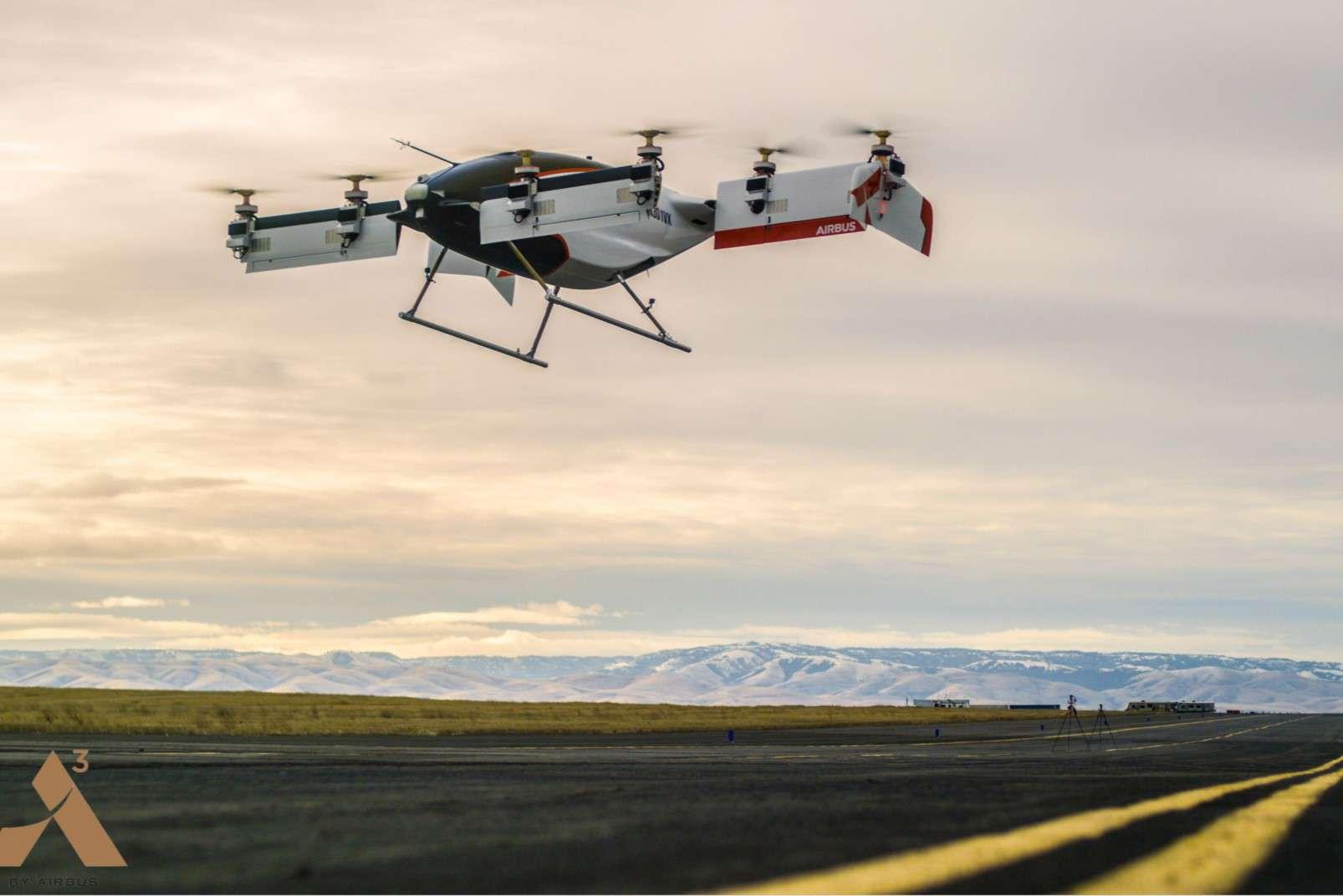 Vahana passenger-carrying drone first flight