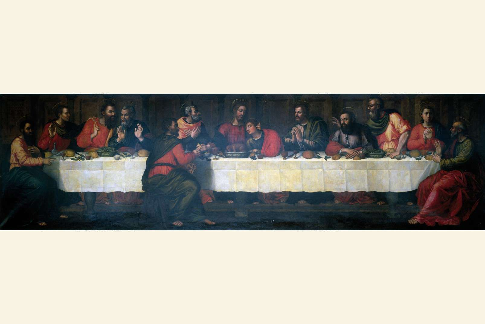 Last Supper by Plautilla Nelli - Adopt an Apostle - The complete painting