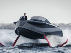 Foiler by Enata Marine - smart design - photo © Guillaume Plisson
