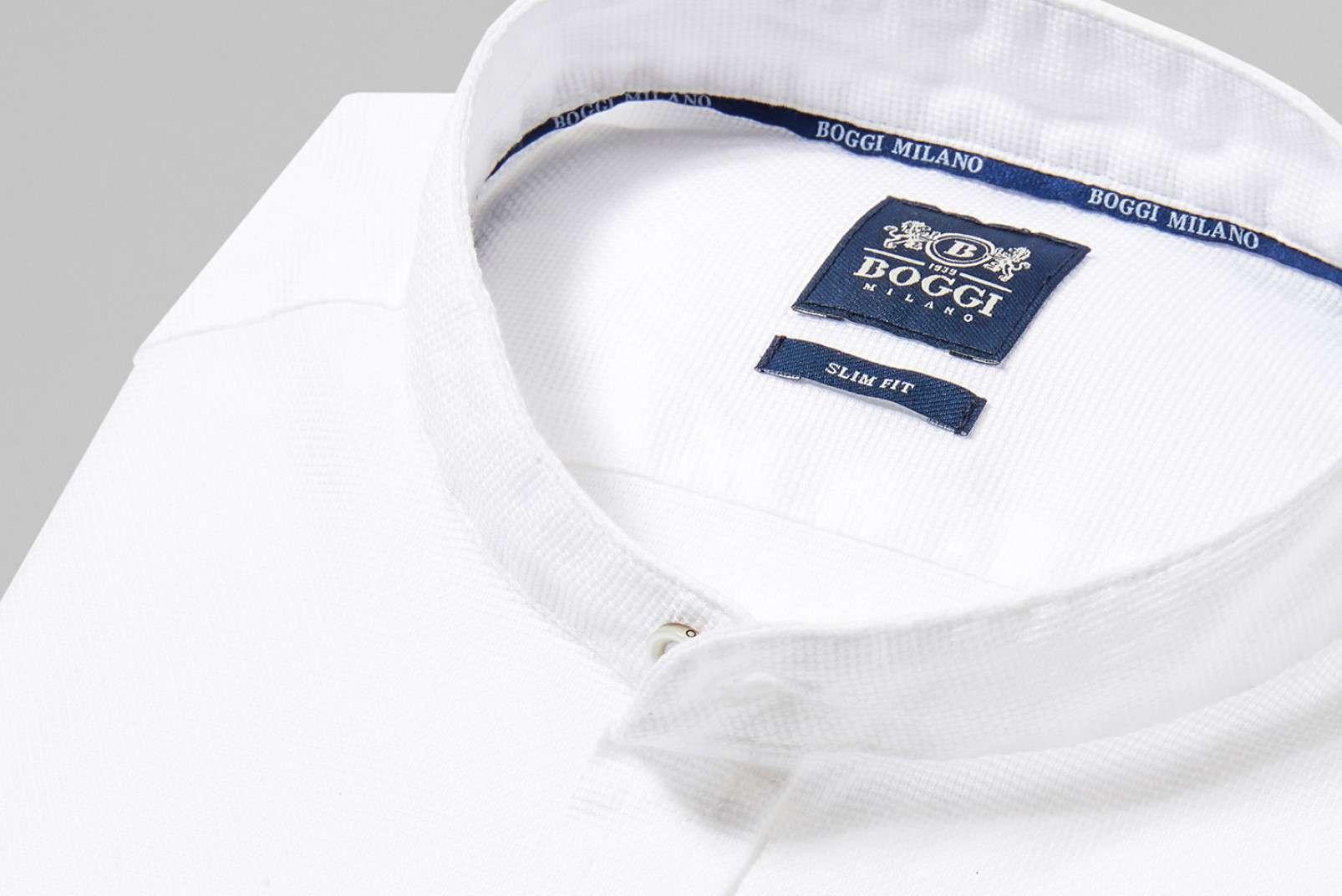 Shirt with Korean collar BO19P017301