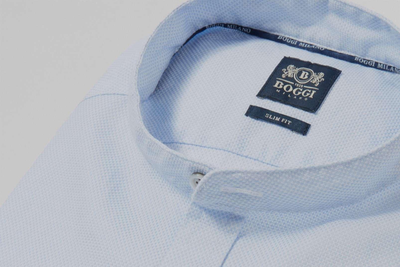 Shirt with Korean collar BO19P017501