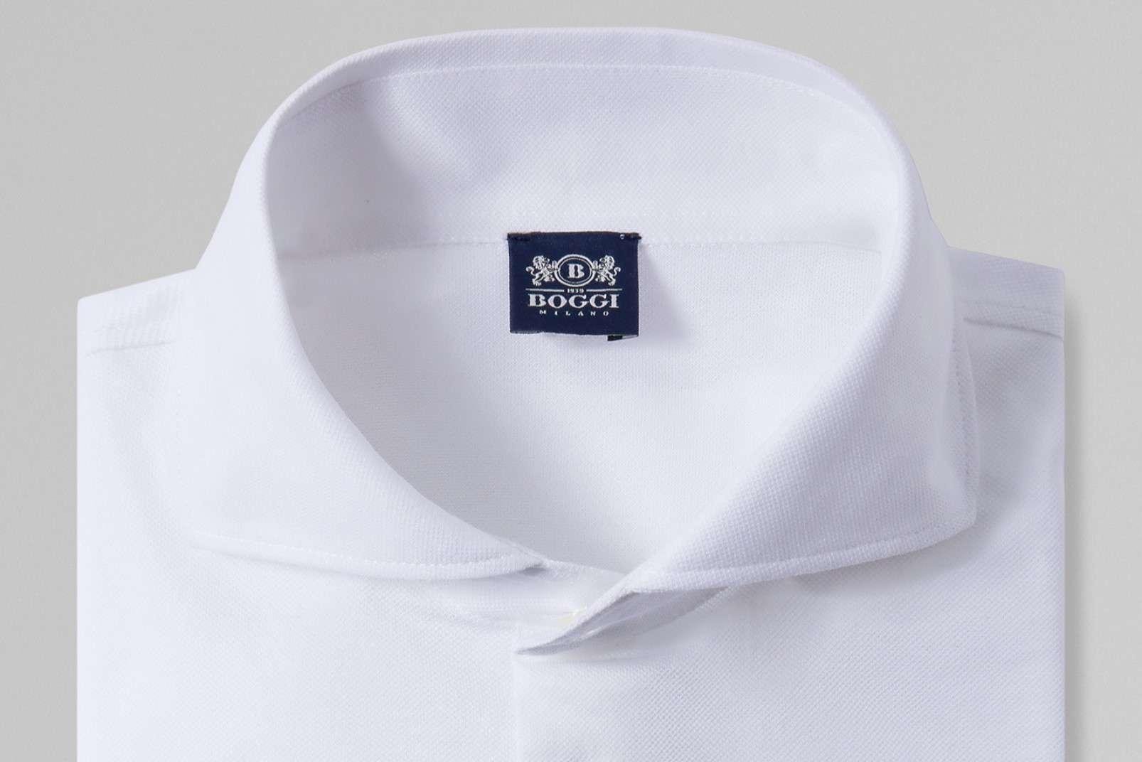 Shirt with open collar BO19P055402