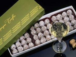 Teuscher Chocolates - Geneva - Truffes Plakat