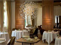 Restaurant at the Auberge du Lion d'Or