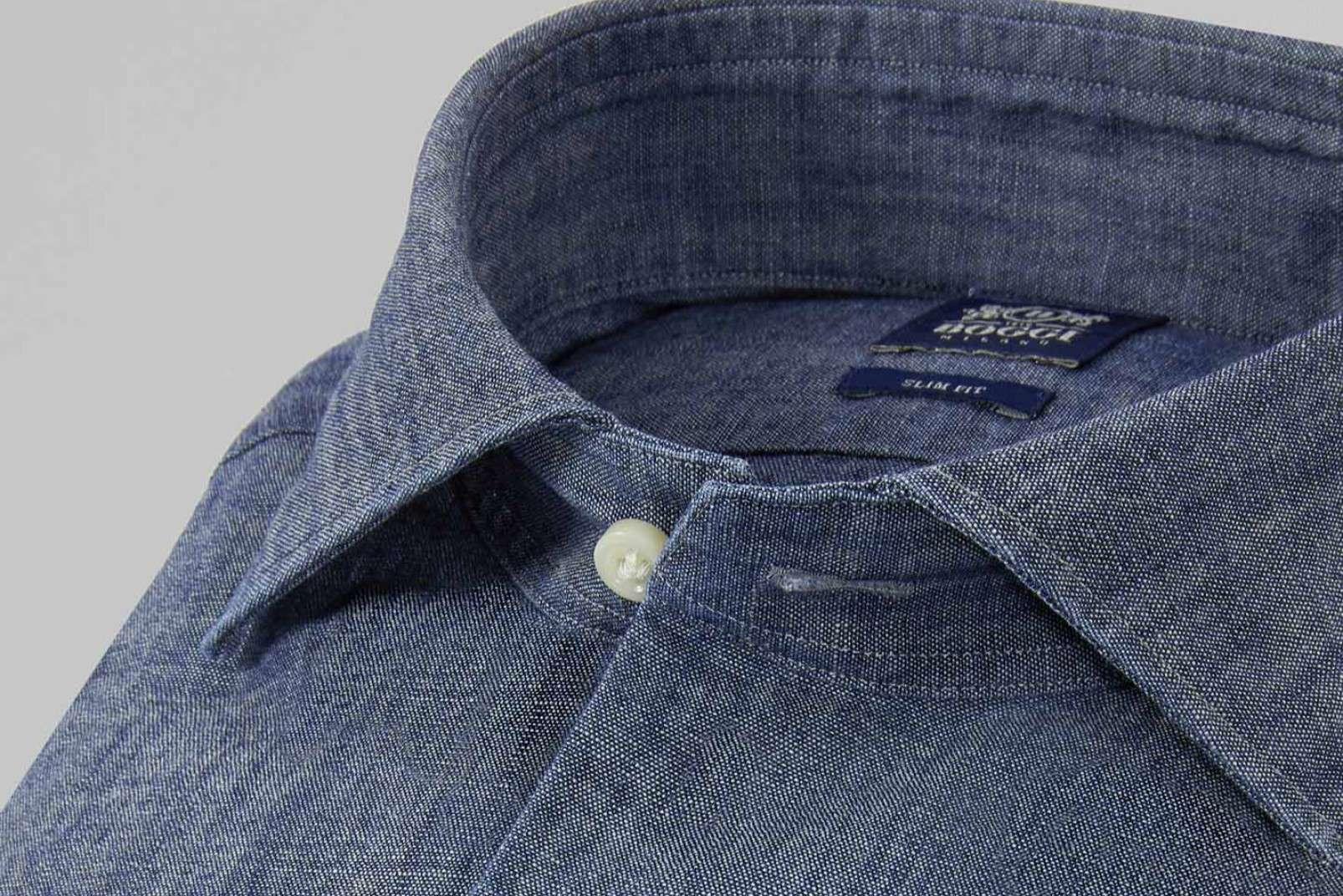 Denim Oxford shirt BO19P097001