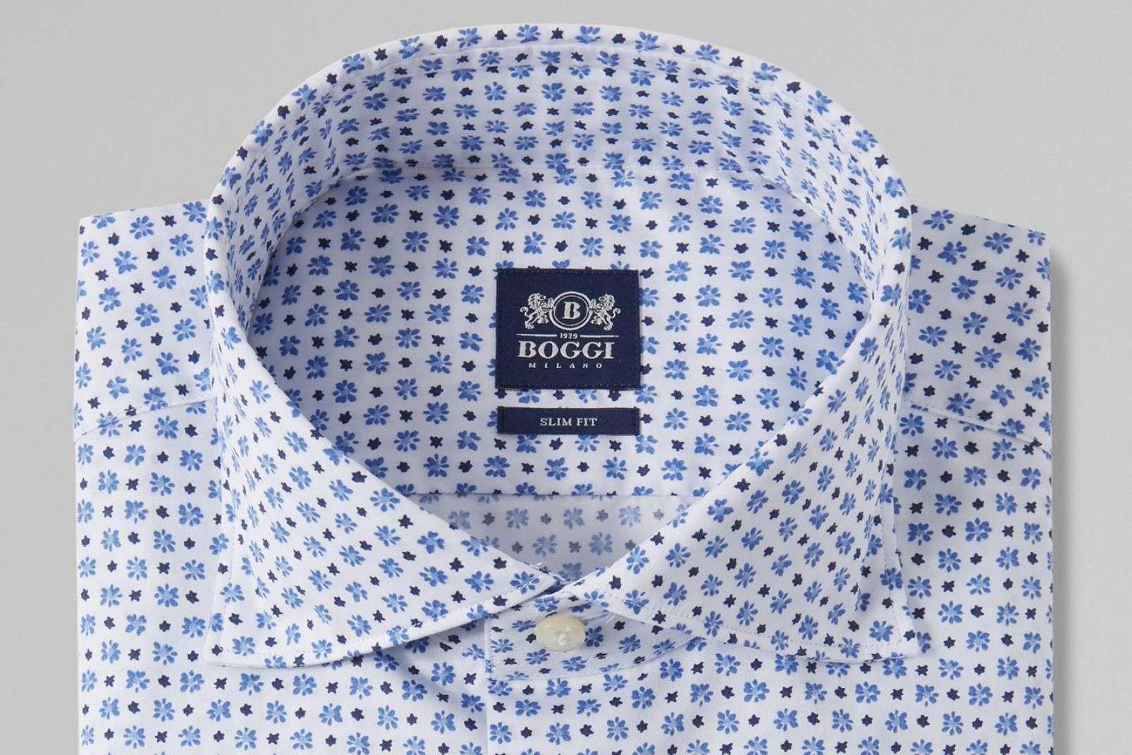Floral print shirt BO19P036501