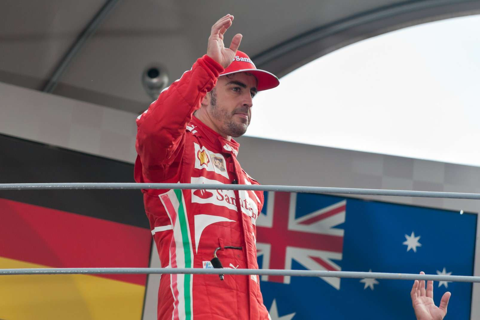 Fernando Alonso at Monza, 2015
