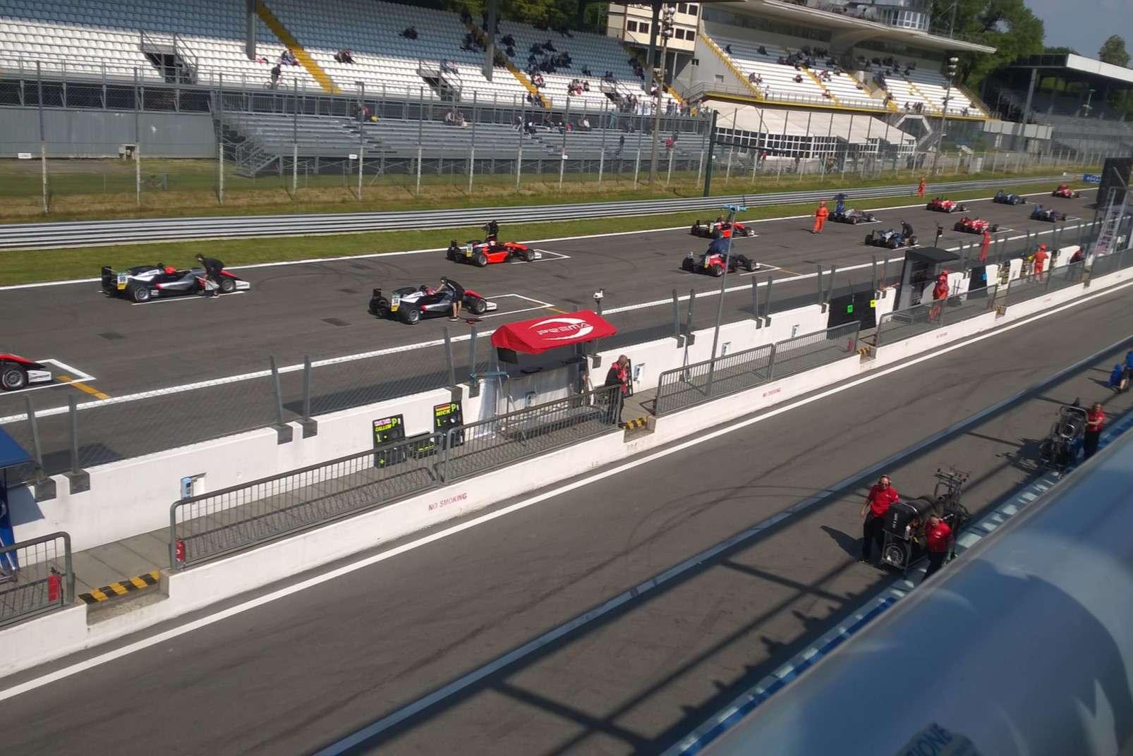 The Monza racetrack