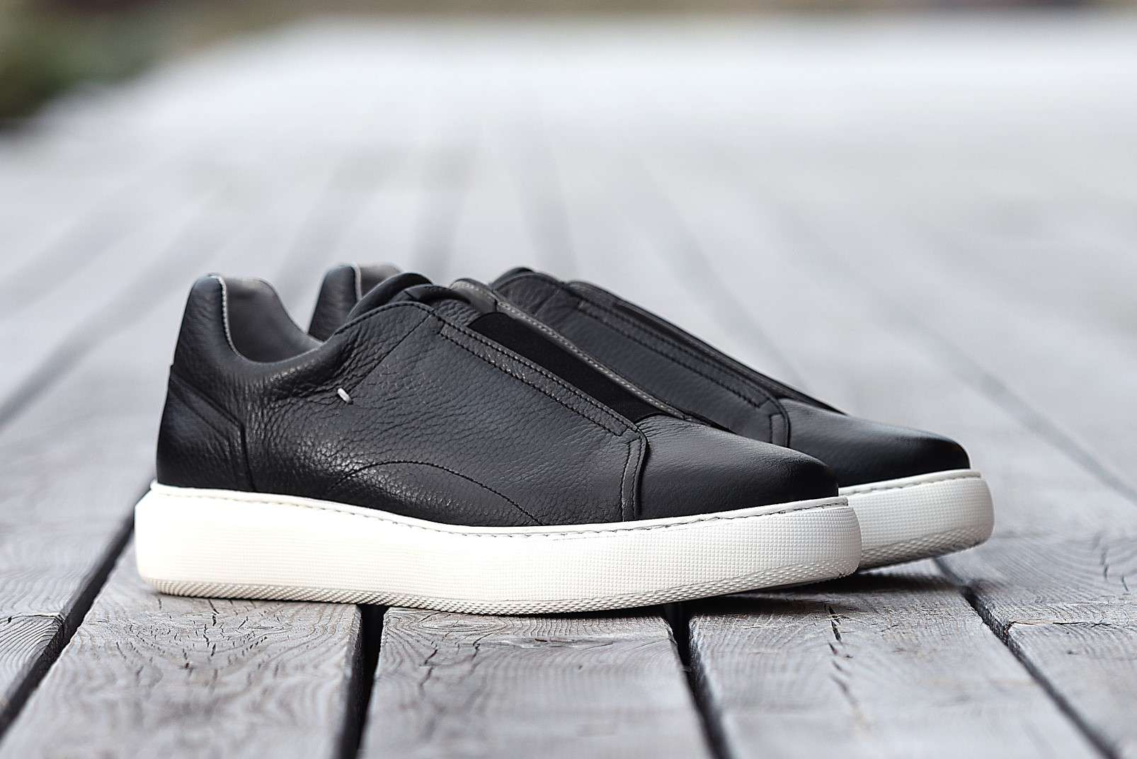 Boggi Milano sneakers with elastic front panel