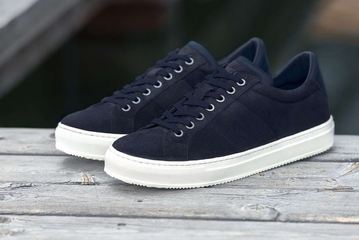 Don't step on my blue suede Boggi Milano sneakers