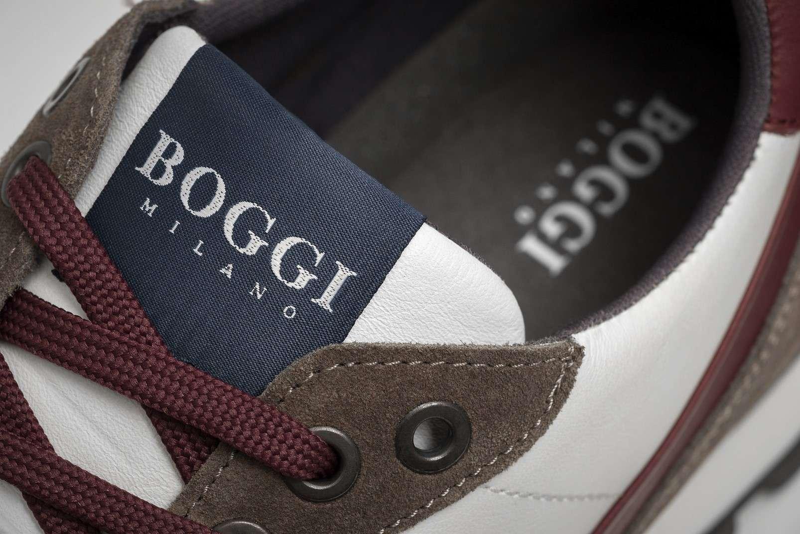 Boggi Milano running sneakers, discreet branding