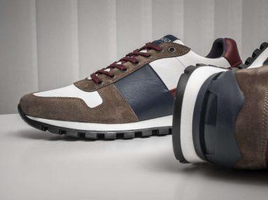 Boggi Milano running sneakers, fine artisanal quality