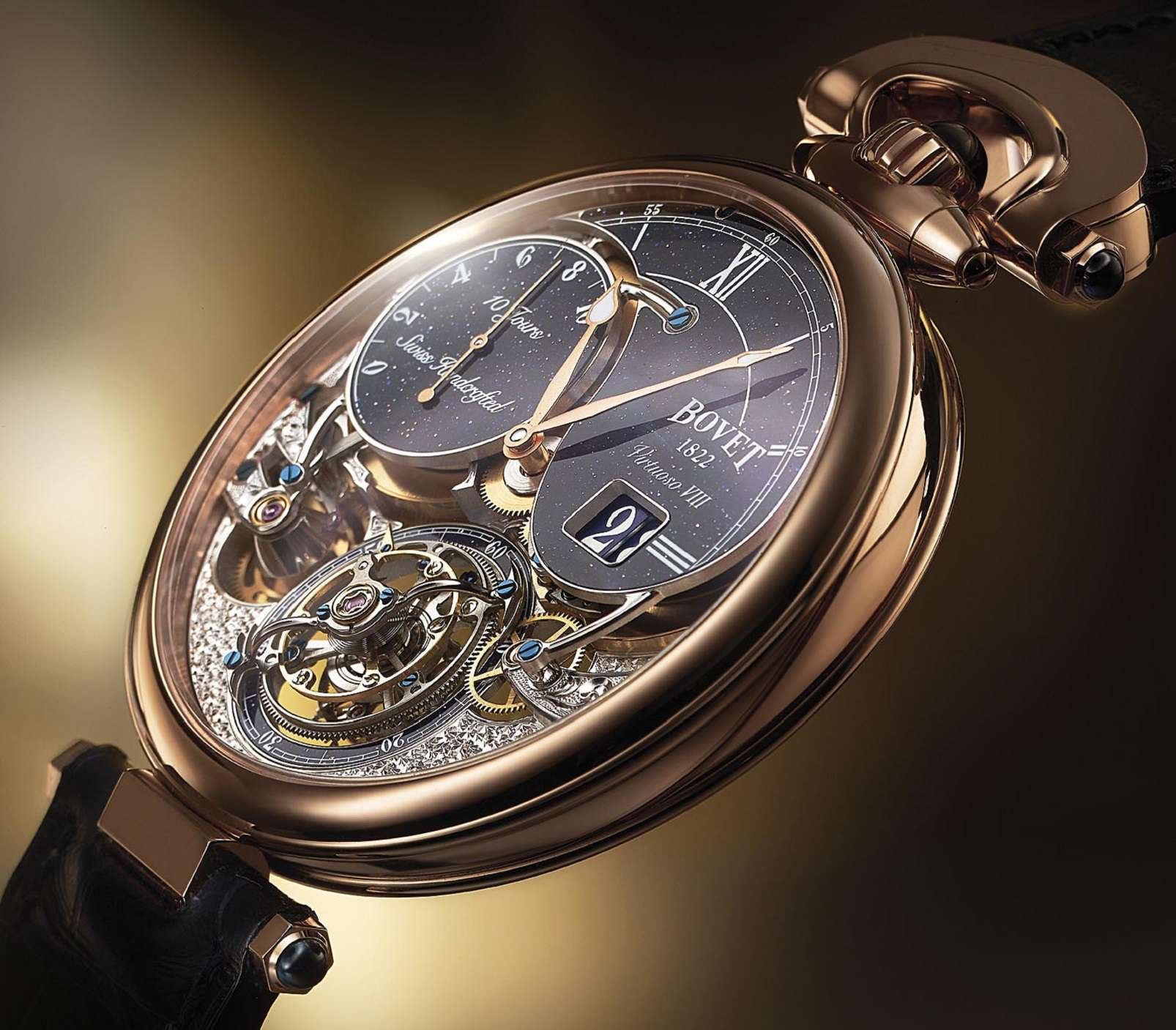 Bovet Virtuoso VIII Big Date Tourbillon