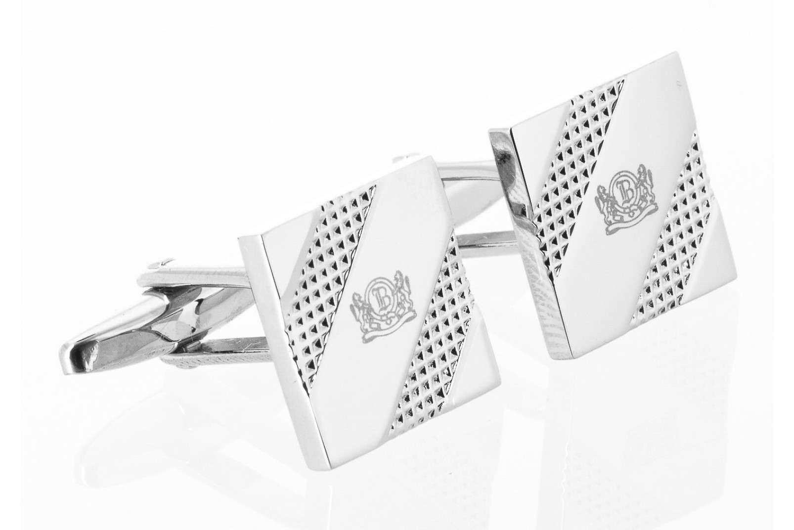 Boggi Milano square crest cufflinks BO13C005601