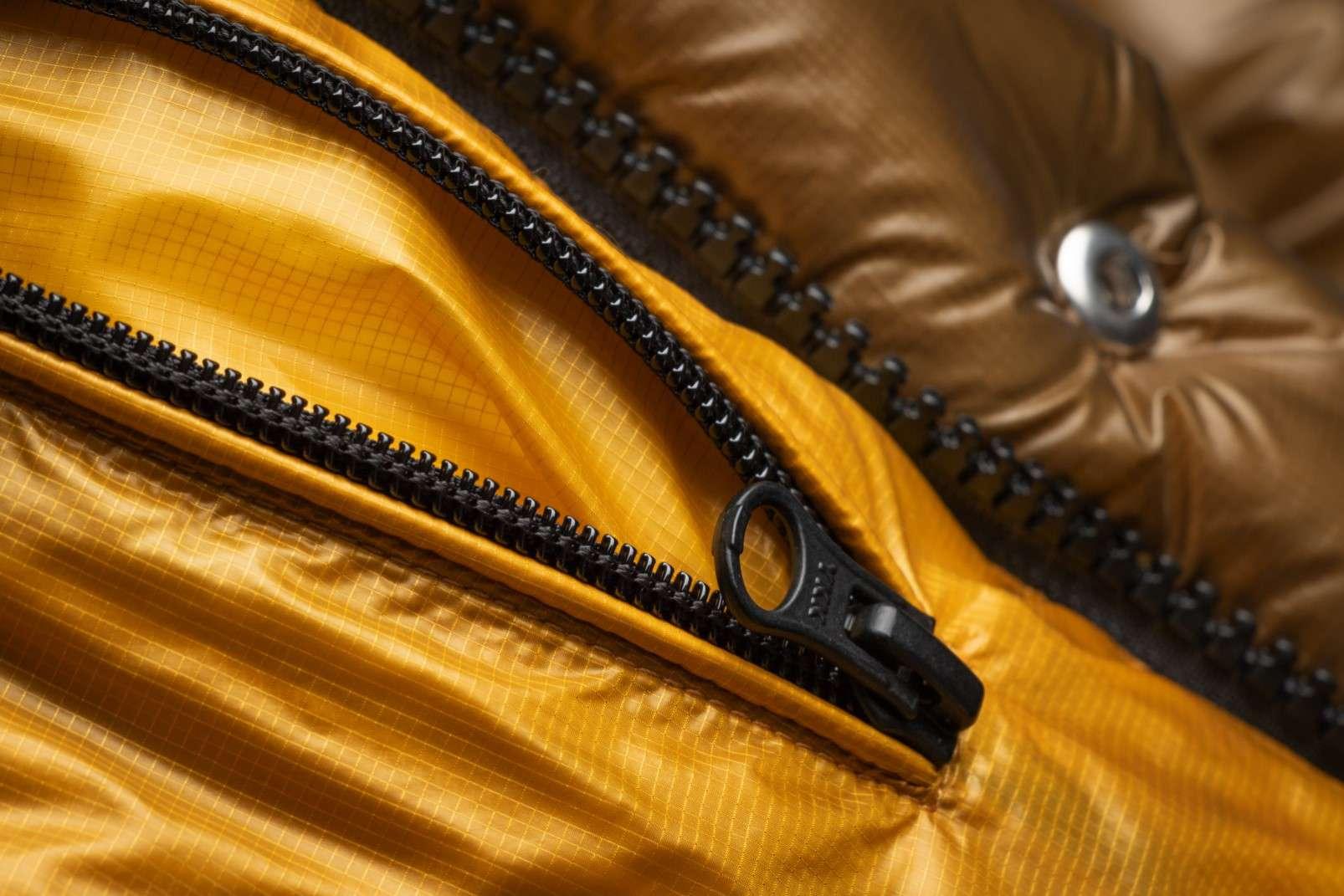 Boggi Milano ochre bomber jacket BO18A011704 inside pocket