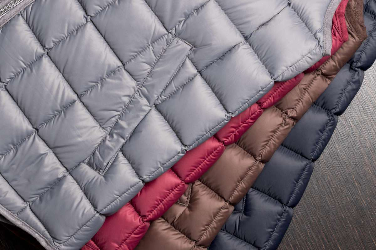 Quilted jacket by Boggi Milano, different colours