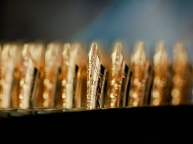 Montblanc gold nibs
