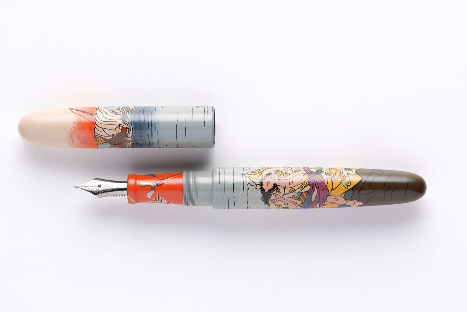Nakaya fountain pen, Minamoto no Tametomo 3