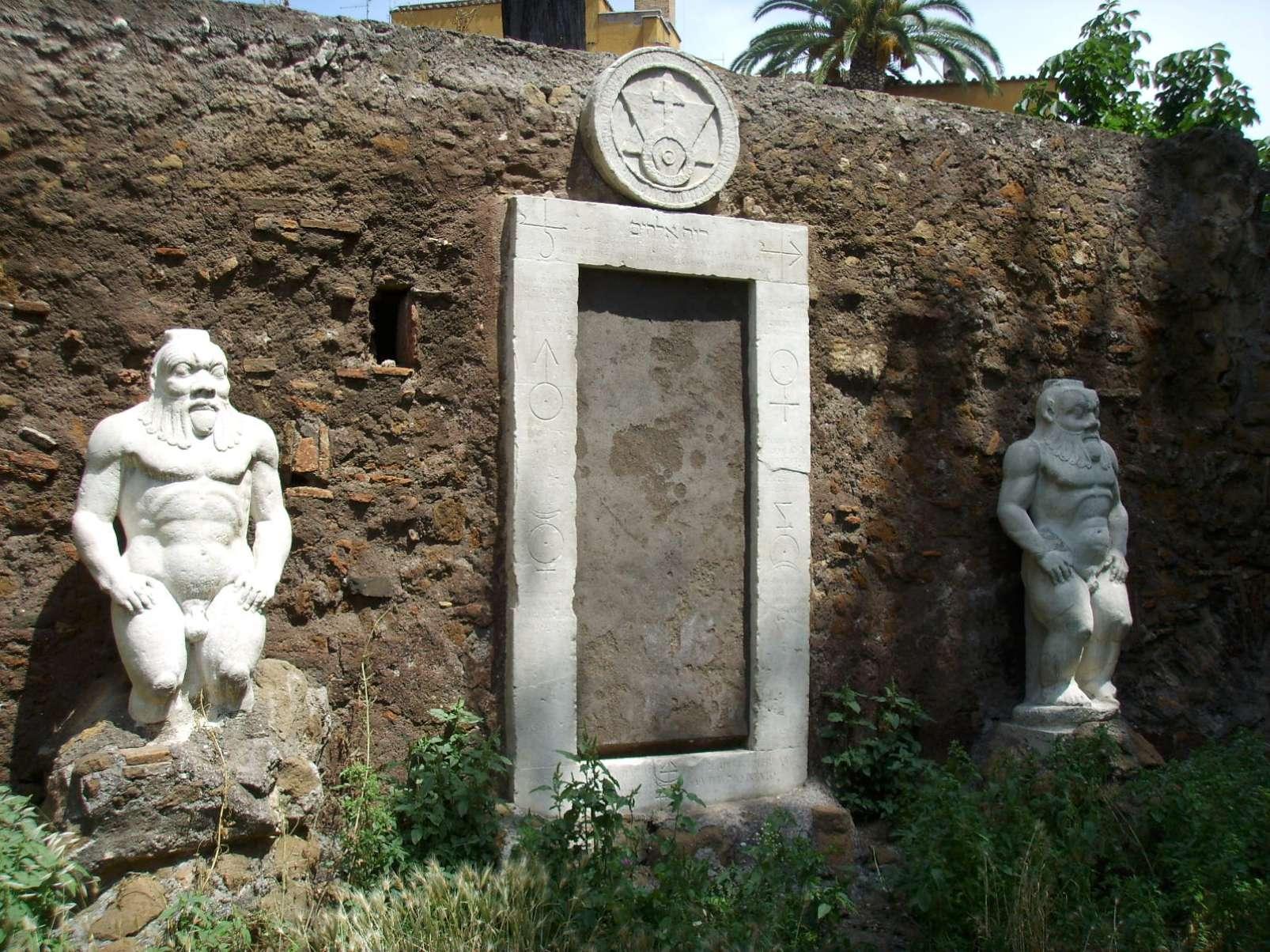 Porta Magica, Rome
