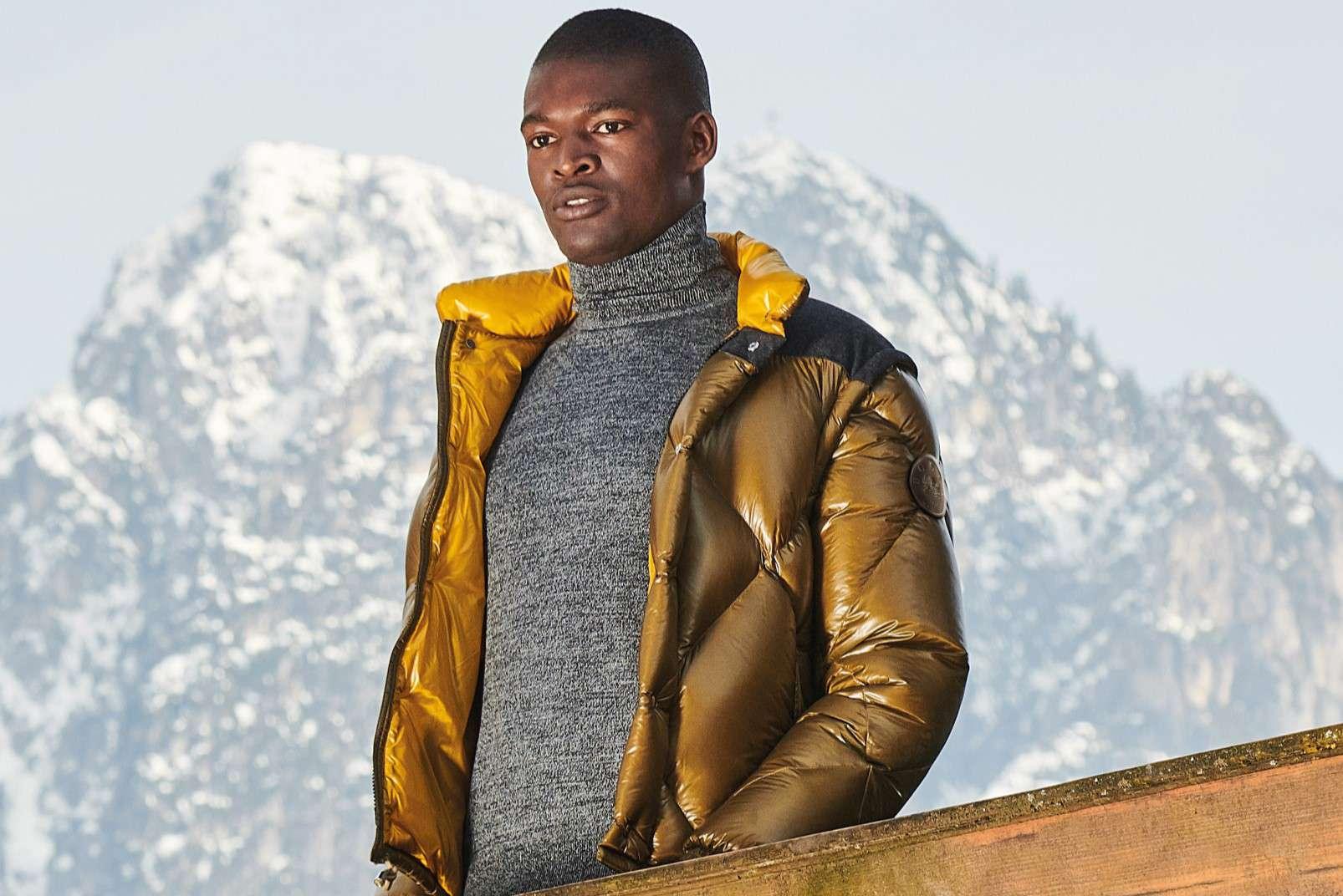 Boggi Milano ochre bomber jacket BO18A011704 outfit