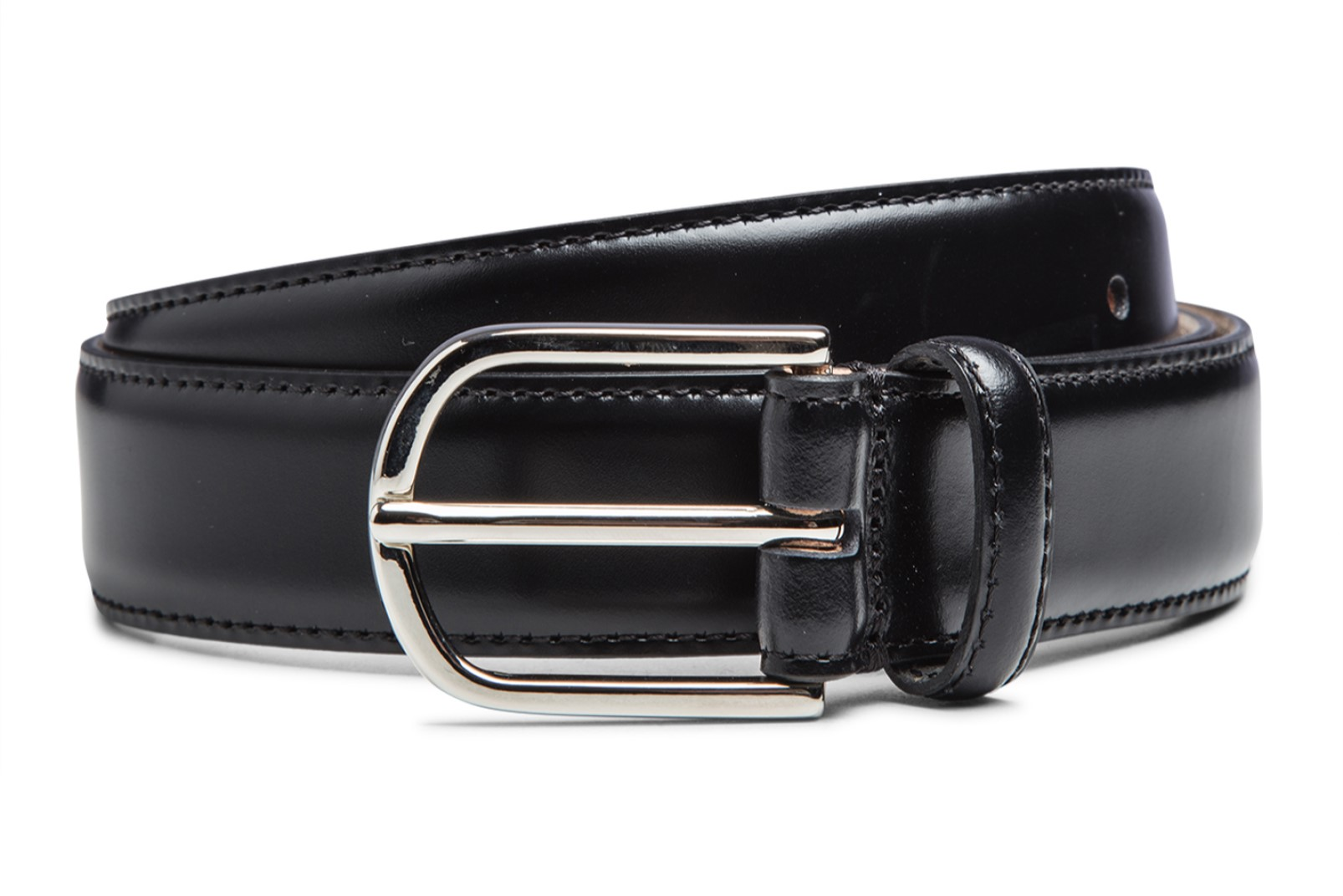 Leather belt by Boggi Milano BO17C009901