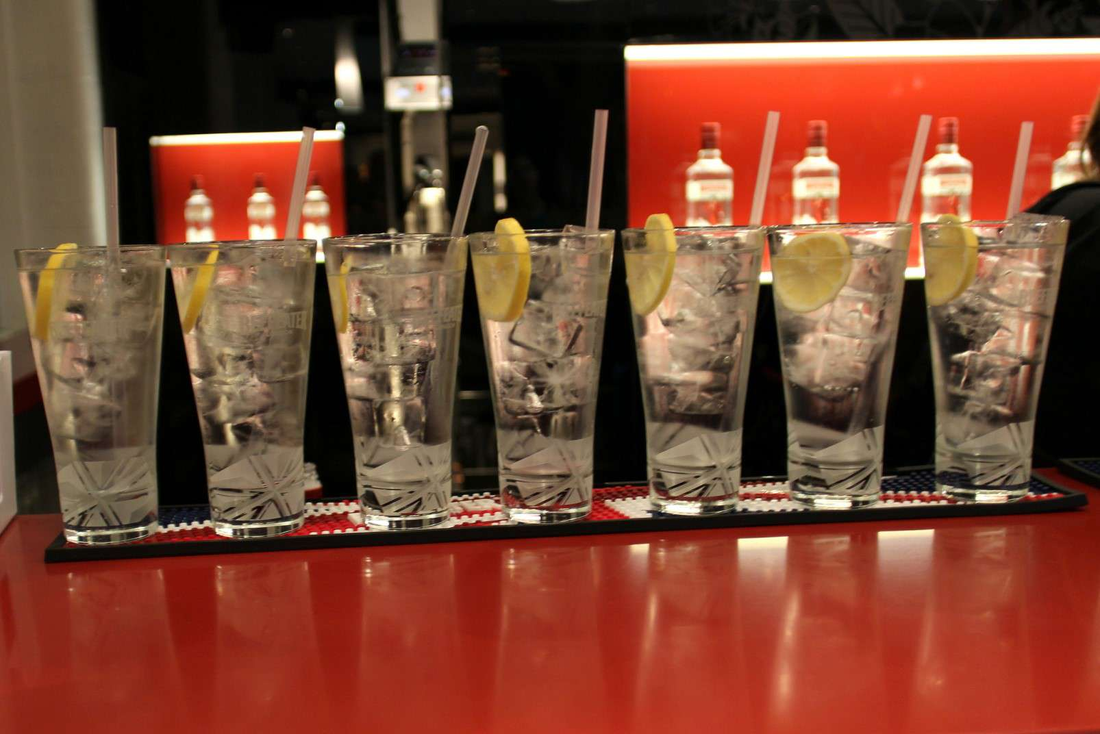 Beefeater gin and tonics
