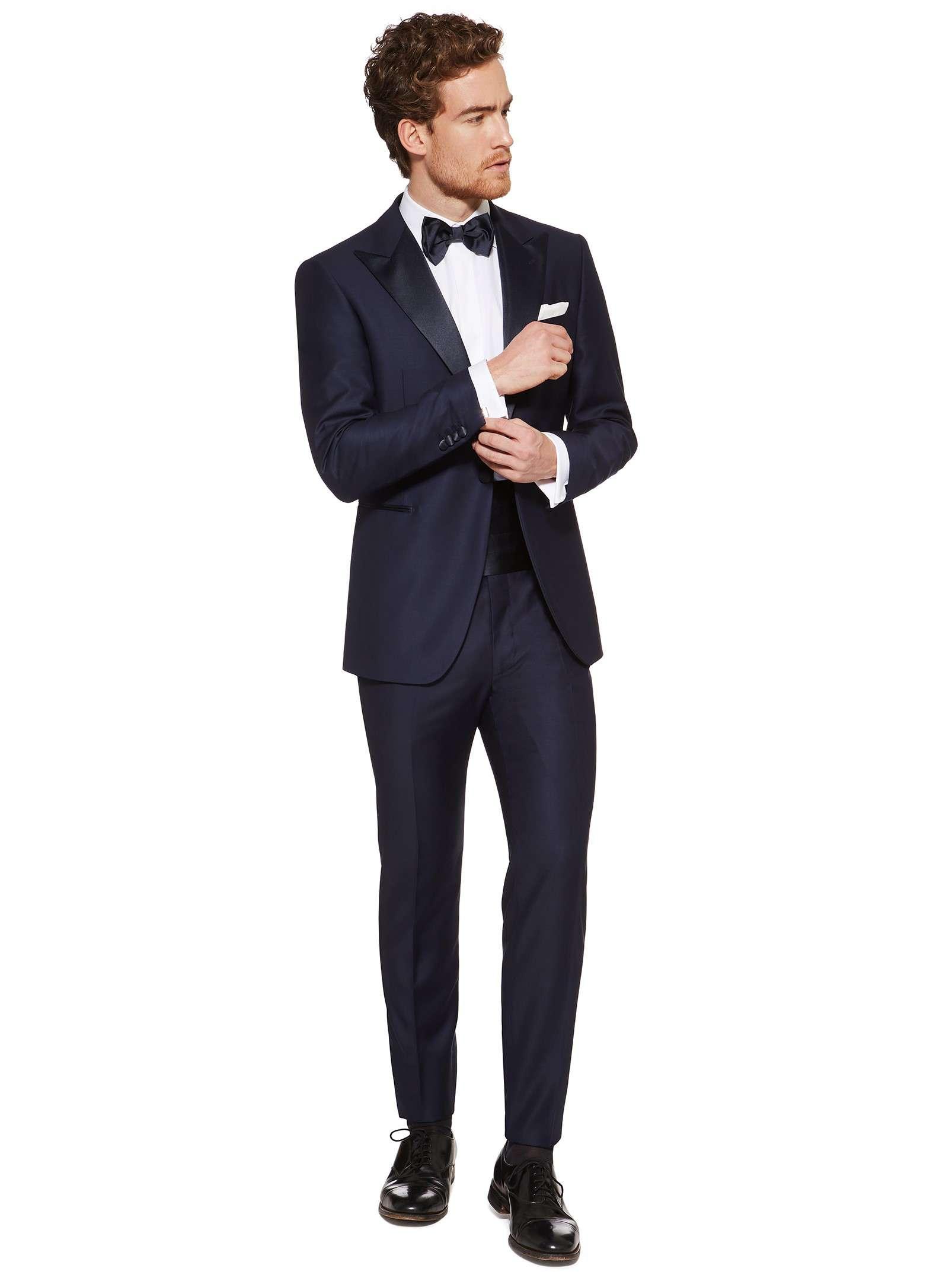 Boggi Milano blue tuxedo