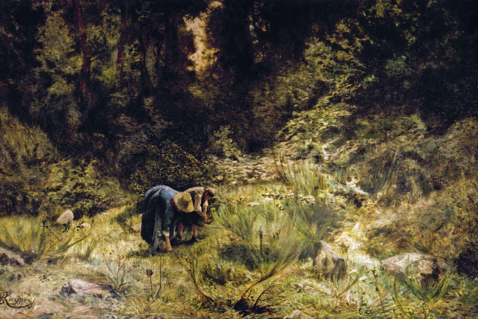 Ernesto Rayper - In cerca di legna