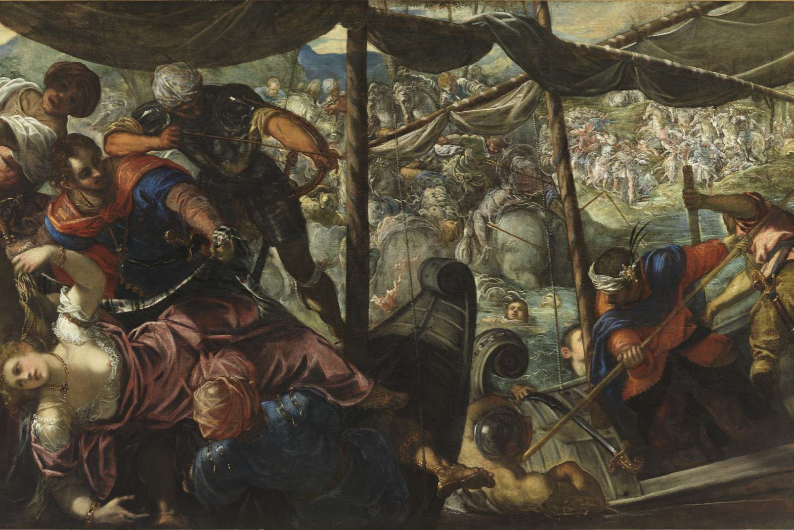 Tintoretto - The Abduction of Helen
