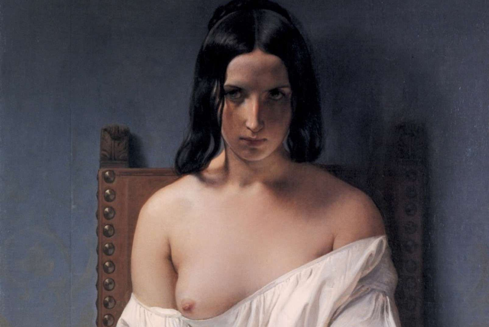 Romanticism - Francesco Hayez - Meditation on the History of Italy