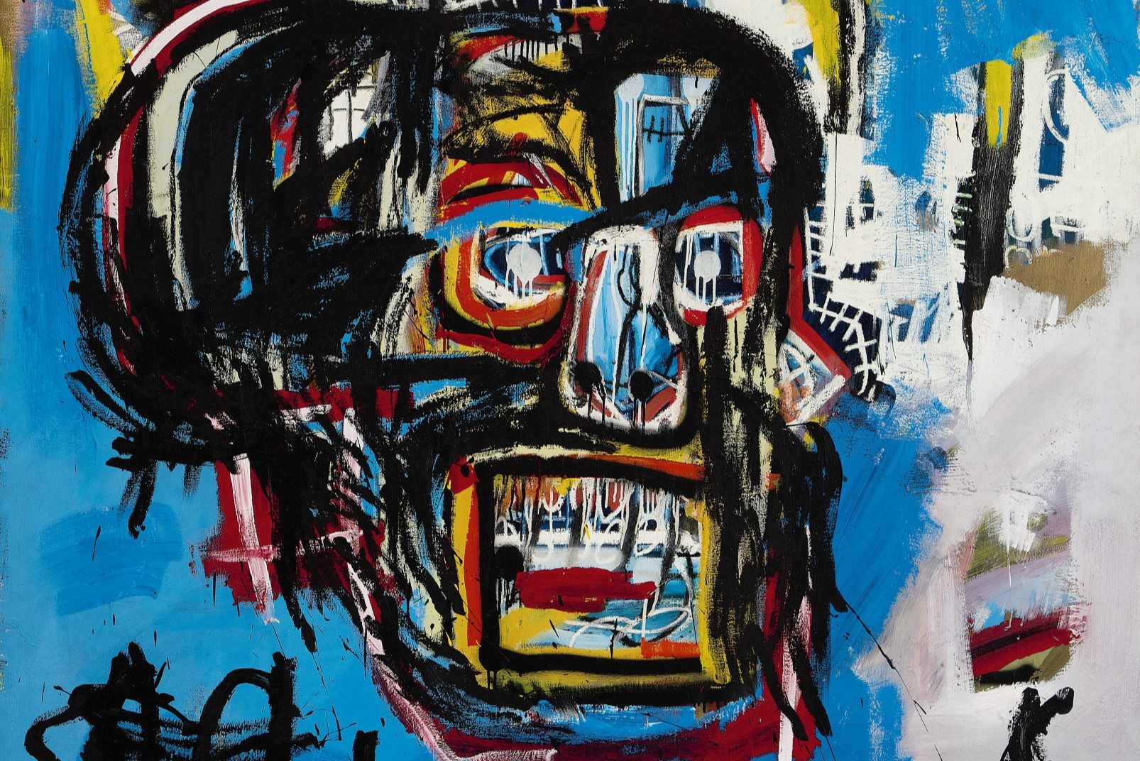 Jean-Michel Basquiat, Untitled, 1982, Acrylic spray