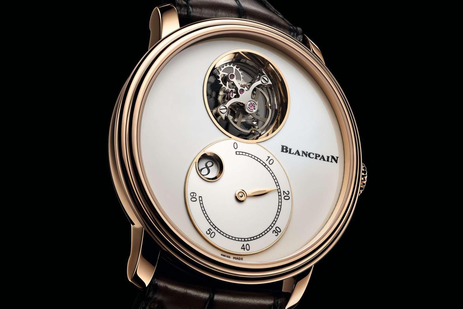 Blancpain Villeret Tourbillon Volant Heure Sautante Minute Rétrograde 66260-3633-55B
