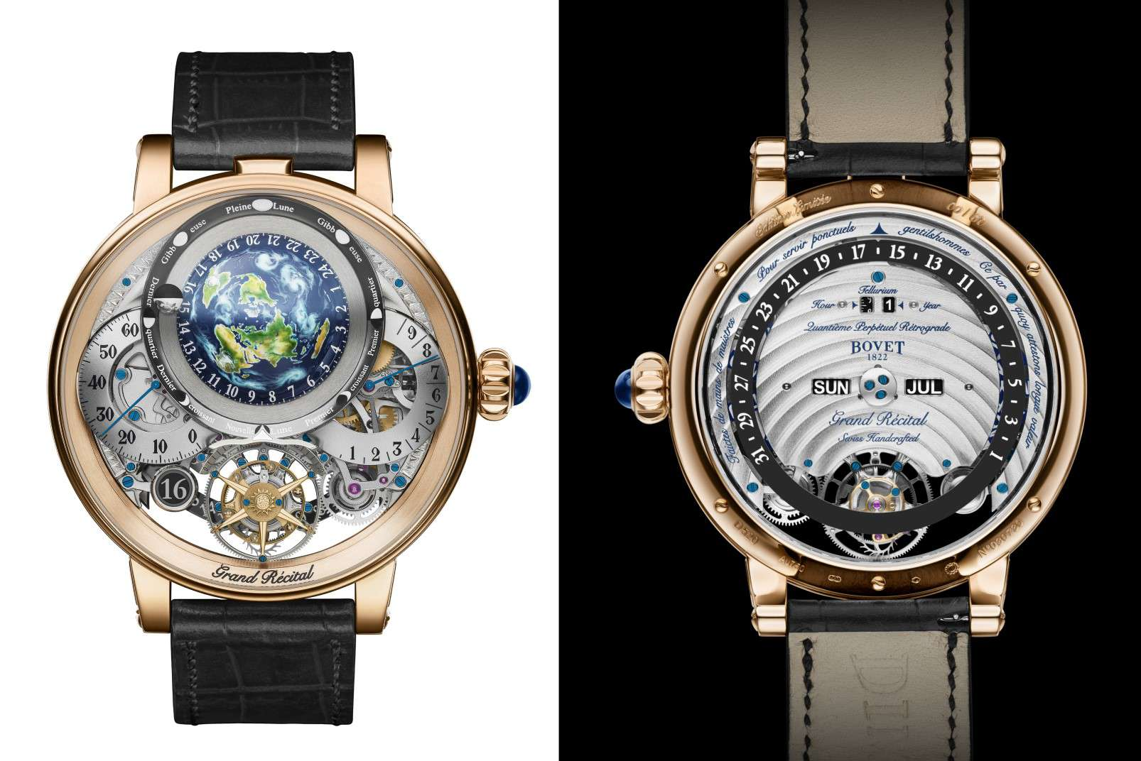 Bovet Récital 22, front and reverse